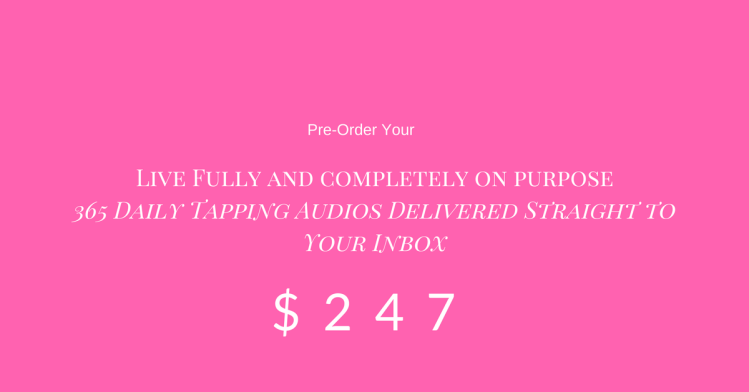 Preorder Button For Live Fully and Completely On Purpose
